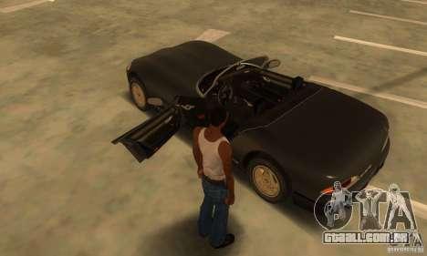 New Banshee [HD] para GTA San Andreas vista interior
