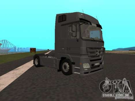 Mercedes-Benz Actros MP3 para GTA San Andreas vista direita