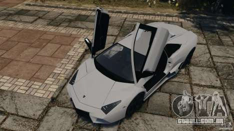 Lamborghini Reventon 2008 v1.0 [EPM] para GTA 4 vista inferior