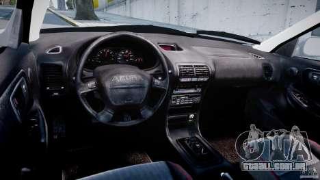 Acura Integra Type-R para GTA 4 vista de volta