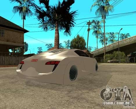 AUDI RSQ concept 2035 para GTA San Andreas traseira esquerda vista