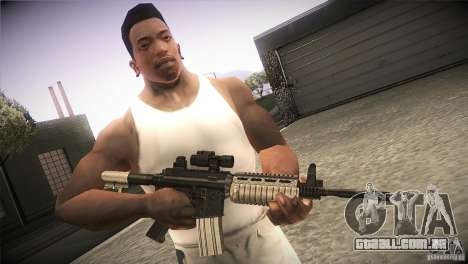 Weapon Pack by GVC Team para GTA San Andreas segunda tela