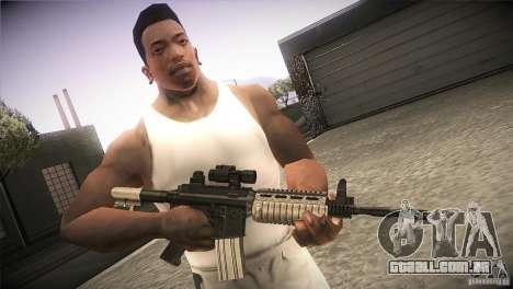 Weapon Pack by GVC Team para GTA San Andreas segunda tela