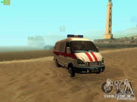 Ambulância de gazela 32214 para GTA San Andreas