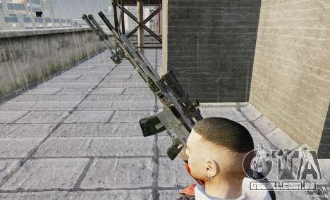 RSASS de MW3 (sniper) para GTA 4 por diante tela