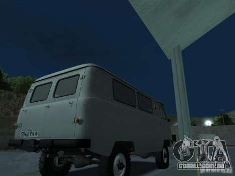 UAZ 451A para GTA San Andreas vista direita