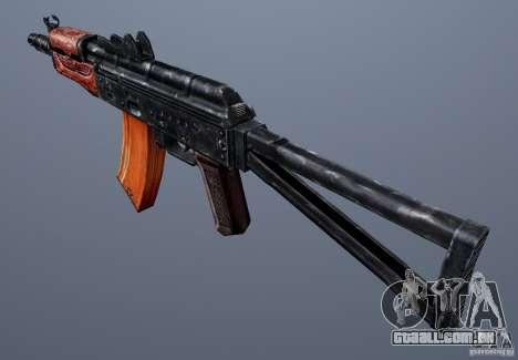 AKS74U para GTA San Andreas segunda tela