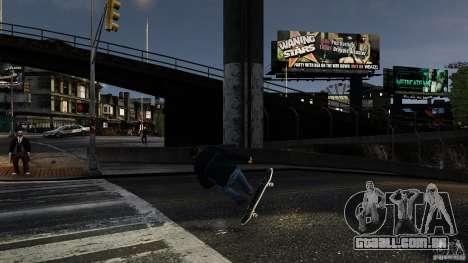 Skate # 3 para GTA 4 vista de volta