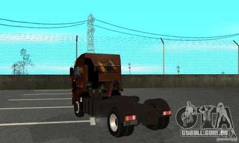 KAMAZ 5460 4 pele para GTA San Andreas vista direita