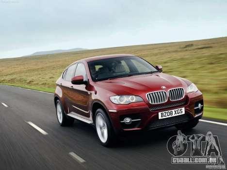 Telas de carregamento BMW X6 para GTA San Andreas terceira tela