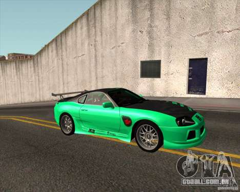 Toyota Supra ZIP style para GTA San Andreas