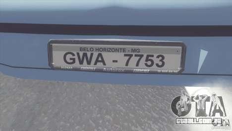 Fiat Brava HGT para GTA San Andreas vista direita