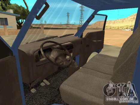 Hyundai Porter para GTA San Andreas vista direita
