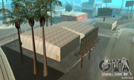 Basketball Court v6.0 para GTA San Andreas quinto tela
