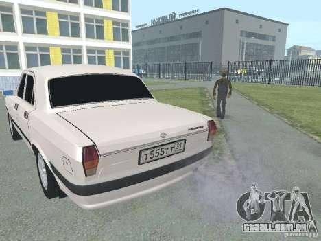 GAZ-24 Volga 105 para GTA San Andreas traseira esquerda vista