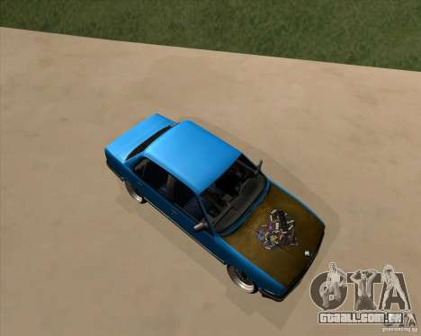 BMW E30 325e Duscchen para GTA San Andreas esquerda vista