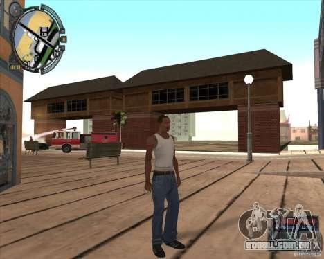 S.T.A.L.K.E.R. Call of Pripyat HUD for SA v1.0 para GTA San Andreas oitavo tela