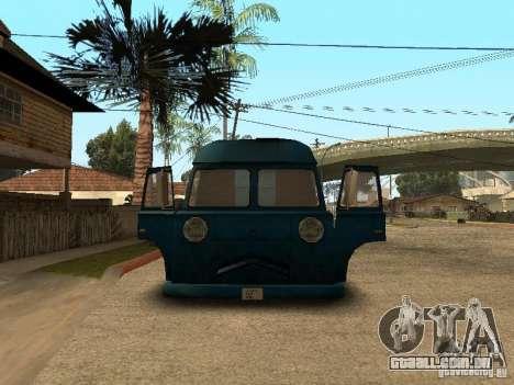 Van de cachorro-quente civis para GTA San Andreas vista direita