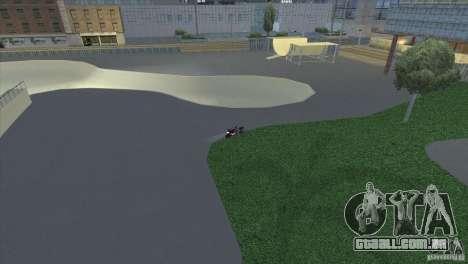 Novas texturas de casas e garagens para GTA San Andreas quinto tela