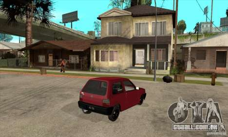 Fiat Uno Fire para GTA San Andreas vista direita