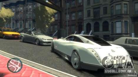 Maybach Exelero para GTA 4 vista direita