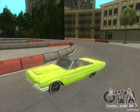 Ford Thunderbird 1964 para GTA San Andreas
