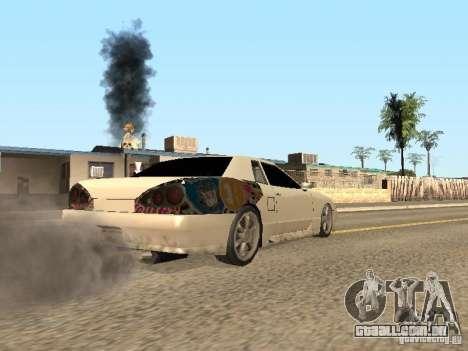 Elegia por Foresto_O para GTA San Andreas esquerda vista