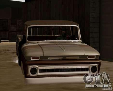 Chevrolet C10 Rat Rod para GTA San Andreas esquerda vista