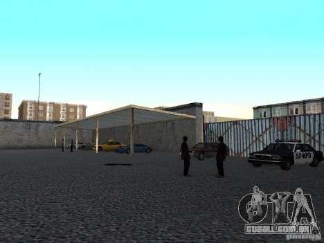 V 1.0 de escola condução realista para GTA San Andreas terceira tela