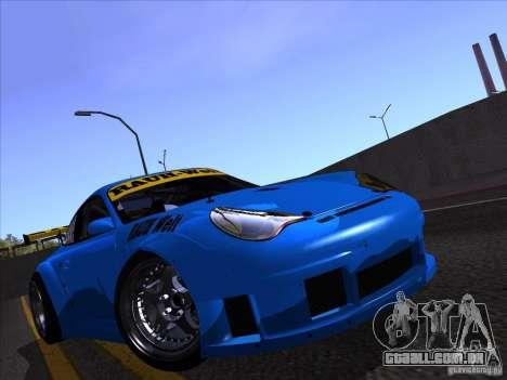 Porsche 911 GT3  RWB para GTA San Andreas vista direita