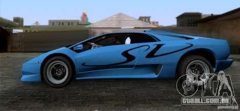 Lamborghini Diablo SV V1.0 para GTA San Andreas esquerda vista