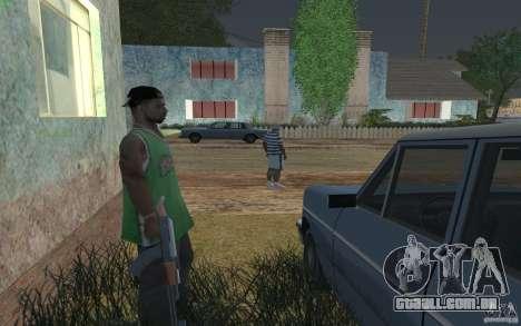 A casa de verde para GTA San Andreas por diante tela