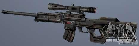 Atirador do irreal para GTA San Andreas segunda tela