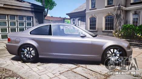 BMW 3 Series E46 v1.1 para GTA 4 vista lateral