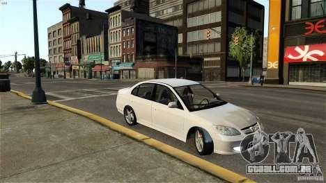 Honda Civic V-Tec para GTA 4 esquerda vista