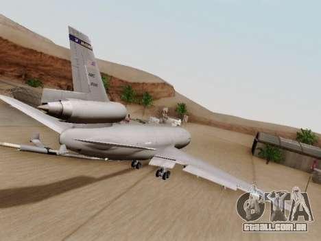 McDonell Douglas KC-10A Extender para GTA San Andreas vista direita