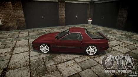 Mazda RX7 FC3S para GTA 4 esquerda vista