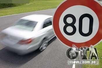 Limitador de velocidade para GTA San Andreas