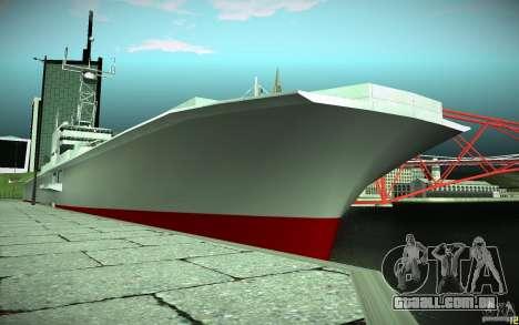 Porta-aviões V2 Final para GTA San Andreas