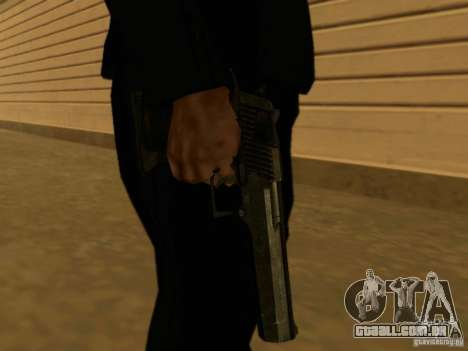 Desert Eagle MW3 para GTA San Andreas terceira tela
