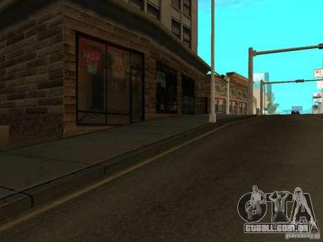 Nova rua Mullholland-novo Mulholland para GTA San Andreas por diante tela