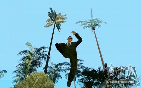 Black MIB para GTA San Andreas terceira tela