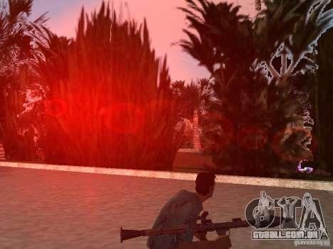 Superior Parque Nacional armas para GTA Vice City quinto tela