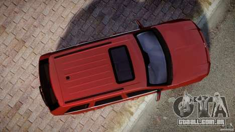Jeep Grand Cherokee para GTA 4 vista direita