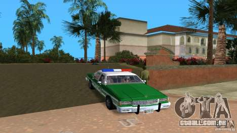Ford LTD Crown Victoria 1985 Interceptor LAPD para GTA Vice City