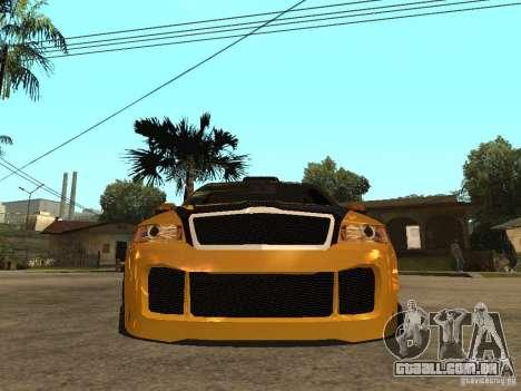 Skoda Octavia II Tuning para GTA San Andreas vista direita