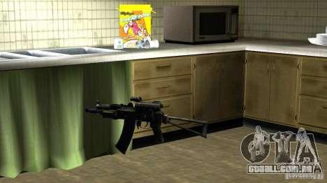 Pak domésticos armas versão 6 para GTA San Andreas