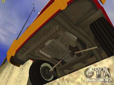 Volkswagen Transporter T1 Camper para GTA San Andreas vista direita