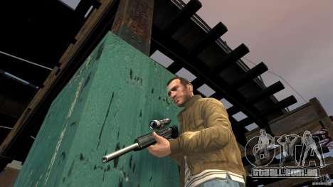 PSG1 (Heckler & Koch) para GTA 4 por diante tela