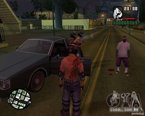 Novas skins para Groove para GTA San Andreas segunda tela